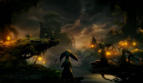 Ori prepares for a new adventure game with friends to face off against foes