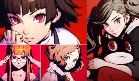 persona 5, persona 5 best girls