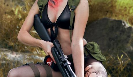 metal gear solid, quiet, cosplay