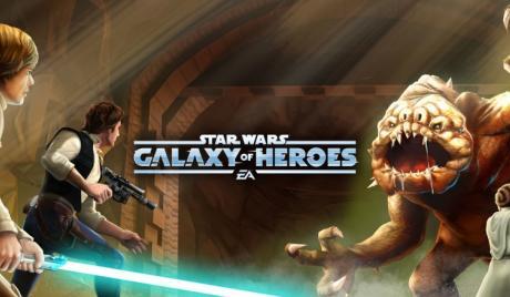 rancor, raid, star wars, galaxy of heroes, best raid teams