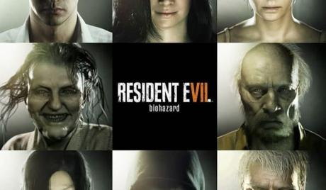 RE7 Characters