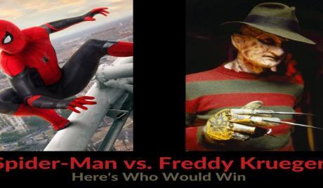 Spider-Man vs. Freddy Krueger