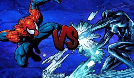 Spider-Man vs. Iceman