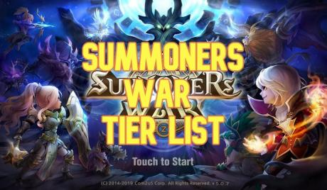 summoners war, tier list, s tier, a tier, b tier, c tier, d tier, summoners war tier list, summoners war ranking