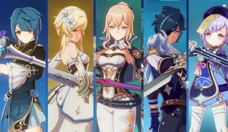 Genshin Impact Best Swords
