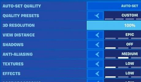 The Best Fortnite Settings that give You an Advantage over your Competition