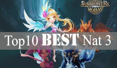 Summoners War Top 10 Best Nat 3, Best monsters. Summoners War, Farmable monsters