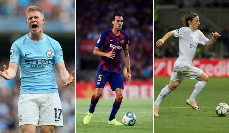 FIFA 20 best all-rounders.