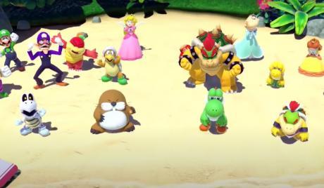 Super Mario Party Best Team