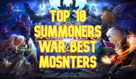 summoners war, best monsters summoners war, top 10 monsters summoners war