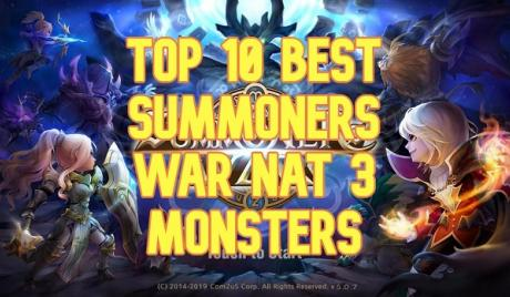 summoners war, best nat 3 monsters, best monsters summoners war, best nat 3s summoners war
