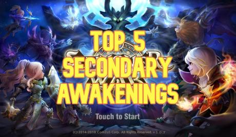 summoners war, second awakening, best second awakening monsters, summoners war secondary awakening
