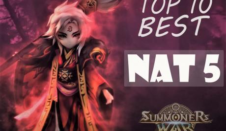 Summoners War Top 10 Best Nat 5, Best monsters.