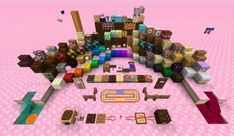 Here's a quick look at the Candy Texture pack for Minecraft!