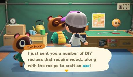 Animal Crossing New Horizons Best Axe