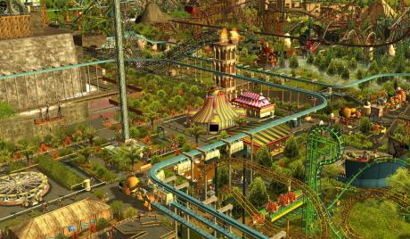 RCT3 theme park