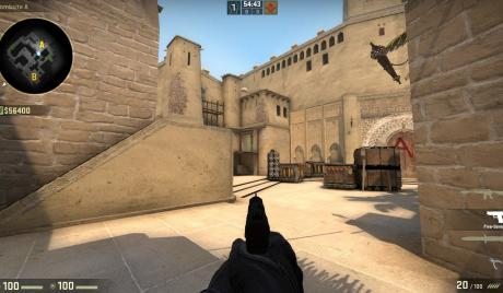 First Person Viewmodel in CS:GO