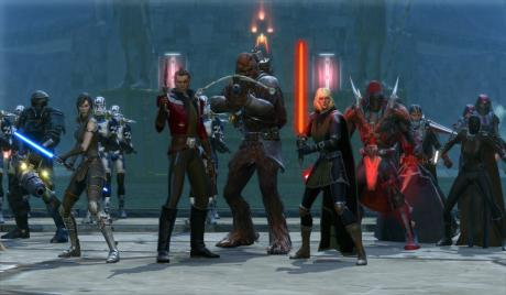 SWTOR Best Builds for PvE DPS, SWTOR Best Builds DPS