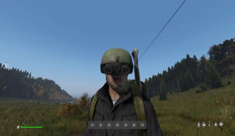 DayZ How To Activate Night Vision