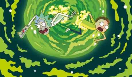 picture of Rick and Morty
