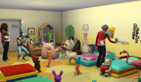 Mod, Cheat, Nanny, Parenthood, Toddlers, Sims 4