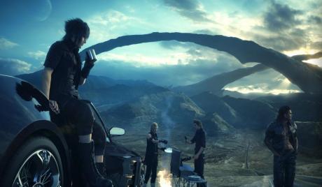 Final Fantasy 15 Main Party