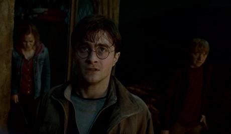 Daniel Radcliffe in his best known role, Harry Potter.