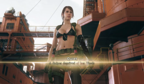 Quiet, the barely-dressed sniper, and your new best friend