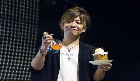 Yoshida at the Eorzea Cafe