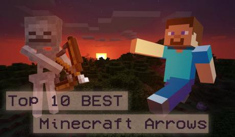 Thumbnail of Steve from Minecraft and a skeleton over a sunset