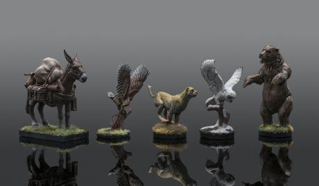 Various animal companion minis.