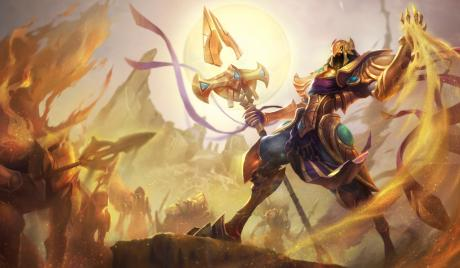 Azir splash art
