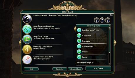 Civ 5 Best Map Types, civilization 5 best map types