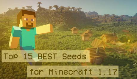 Thumbnail of Steve from Minecraft over an image of a plains village
