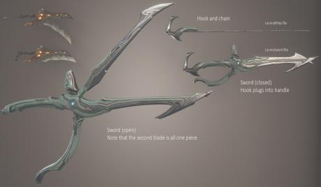 Blade and Whip parts