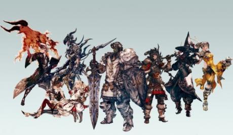 FFXIV, Final Fantasy XIV, FF14, Final Fantasy 14, jobs, races