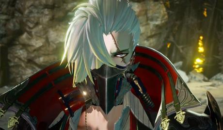 Jack Rutherford from upcoming JRPG Code Vein