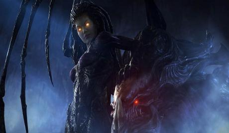 Starcraft, Starcraft 2, Kerrigan, Zerg, RTS, Game, SF, Space