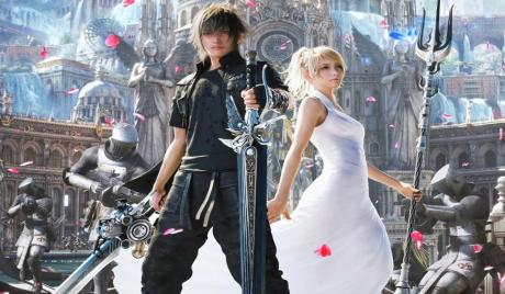 Key Art of Luna and Noctis
