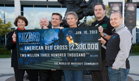 mmo, blizzard, make-a-wish, world of warcraft, wow, donation