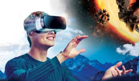 VR, MR, AR, virtual reality games 2016