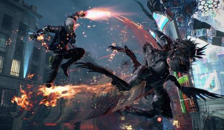 Devil May Cry 5, Devil May Cry, Hideaki Itsuno, E3, Gamescon 2018, Dante, Nero, Tatsuya Yoshikawa