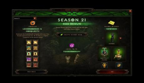 D3 Season 21 Things to Know