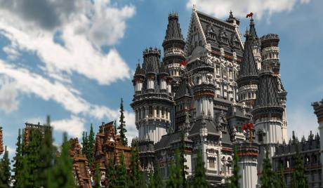 Minecraft Horror Builds