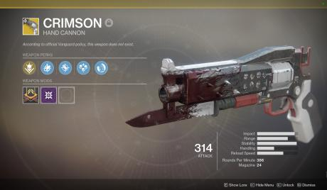 Best Hand Cannons in Destiny 2