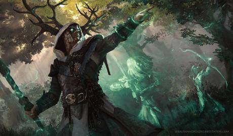 D&D Best Druid Art