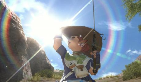 Final Fantasy XIV, FFXIV, Lalafell, fishing
