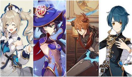 Genshin Impact Best Hydro Characters