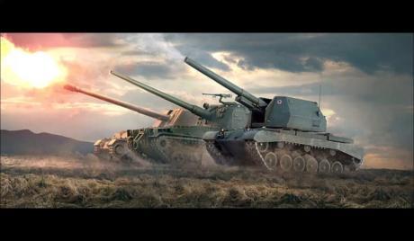 WoT, World of Tanks, Best SPGs, Best Arties