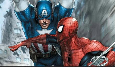 SpiderMan Vs. Captain America, Spider-Man Vs. Captain America who would win